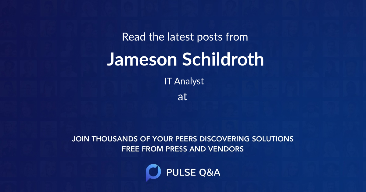 Jameson Schildroth