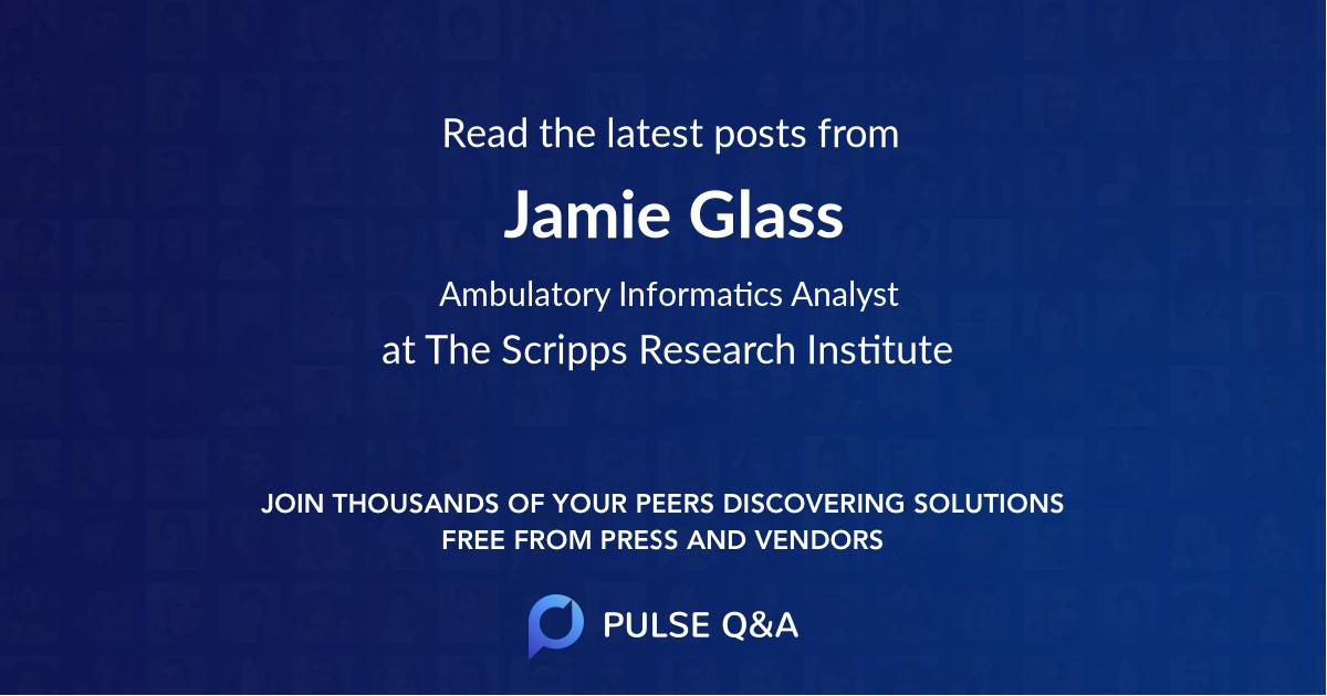 Jamie Glass
