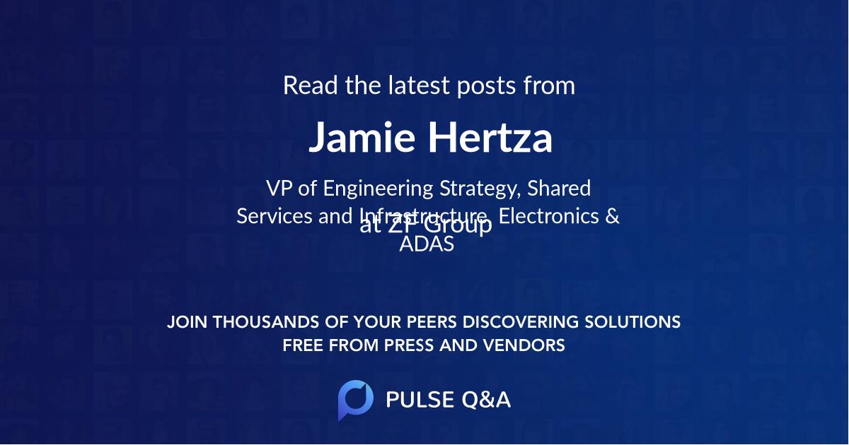 Jamie Hertza