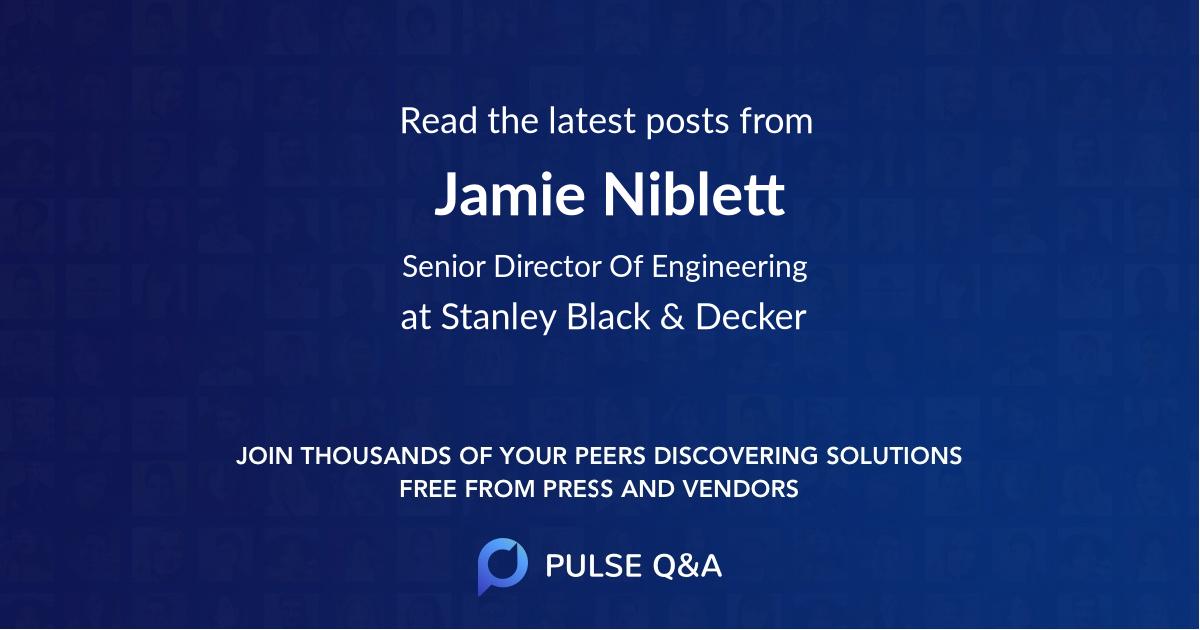 Jamie Niblett