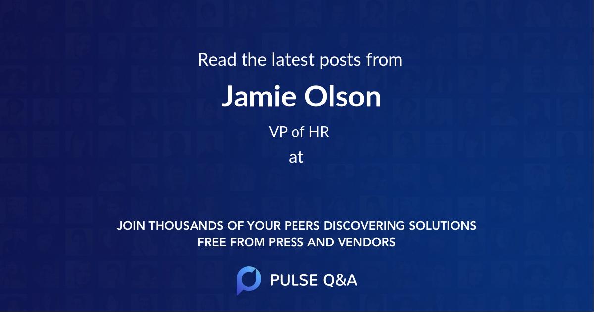 Jamie Olson
