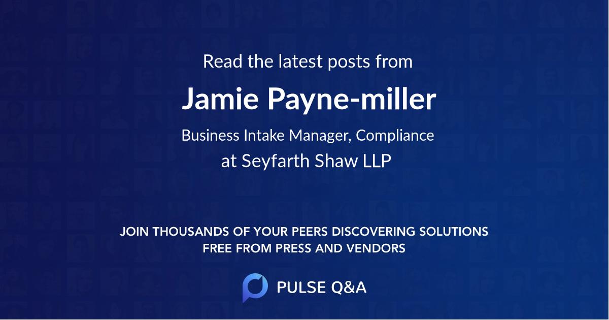 Jamie Payne-miller