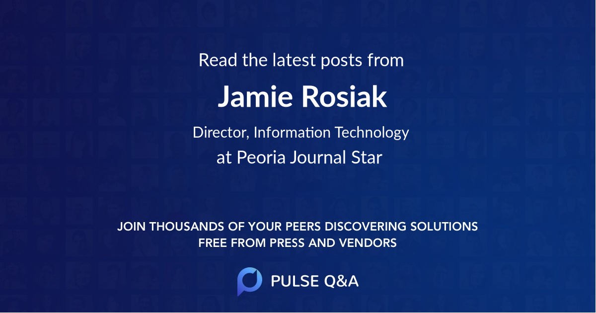 Jamie Rosiak