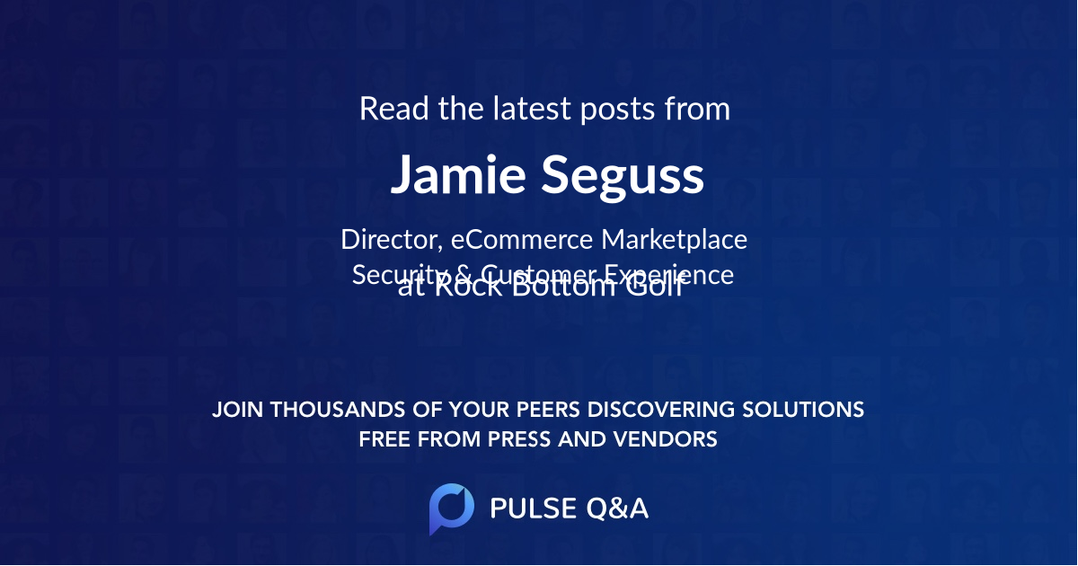 Jamie Seguss