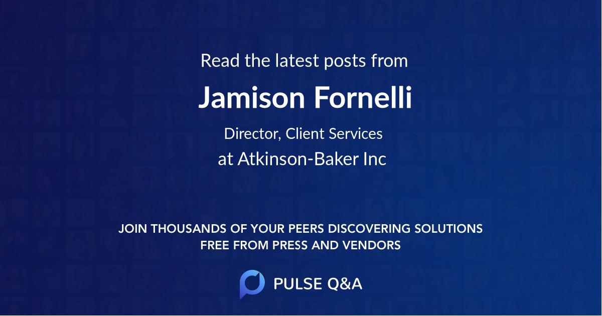 Jamison Fornelli