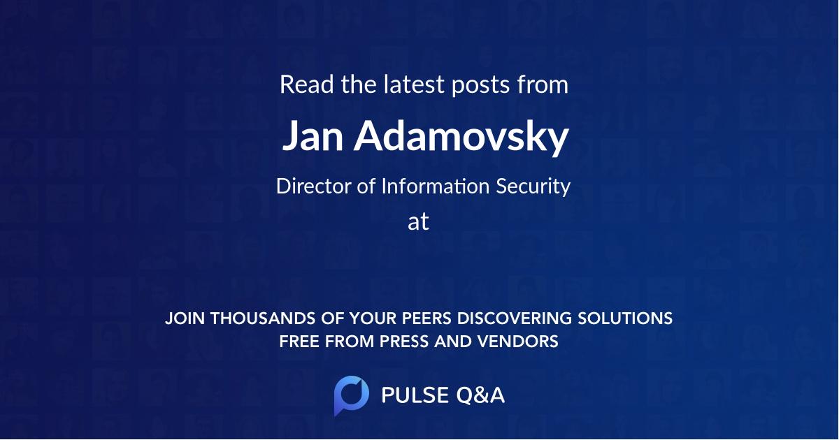 Jan Adamovsky