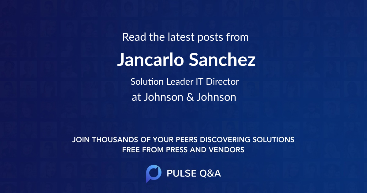 Jancarlo Sanchez