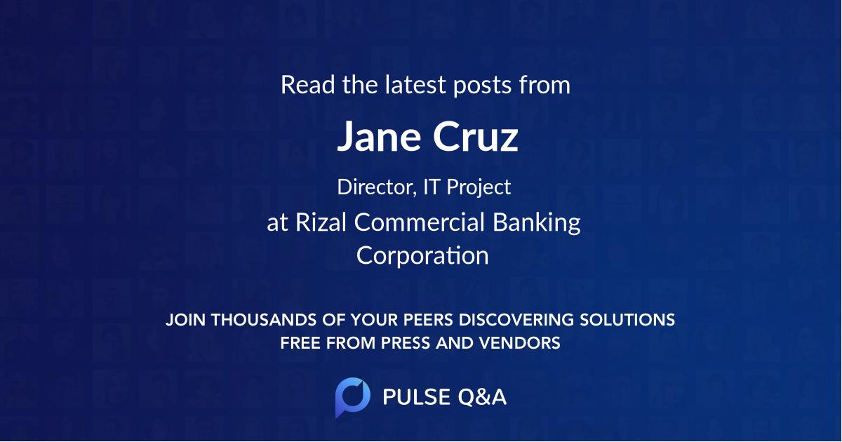 Jane Cruz