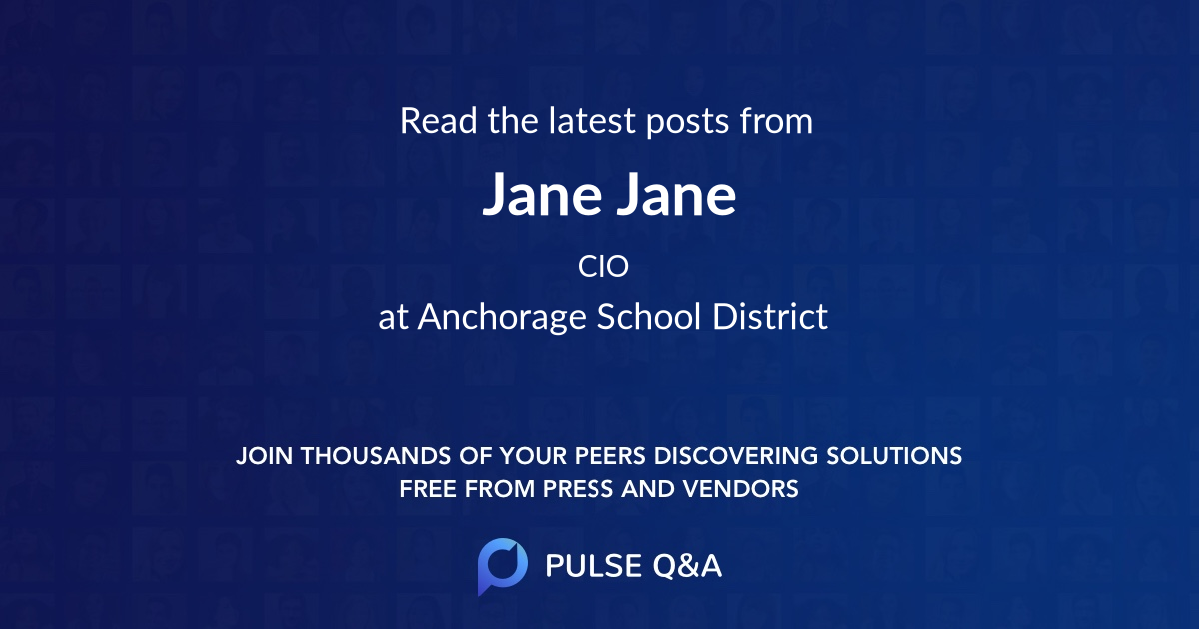 Jane Jane