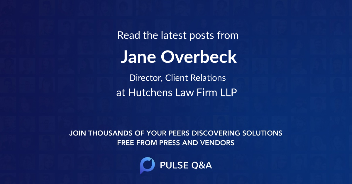 Jane Overbeck