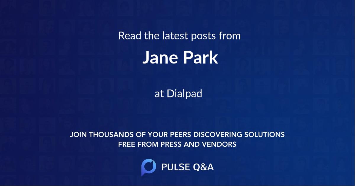 Jane Park