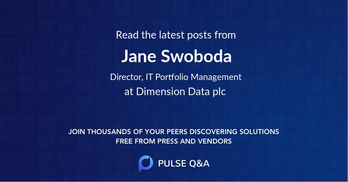 Jane Swoboda