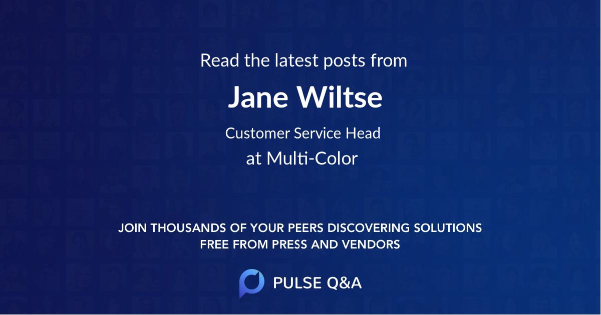 Jane Wiltse