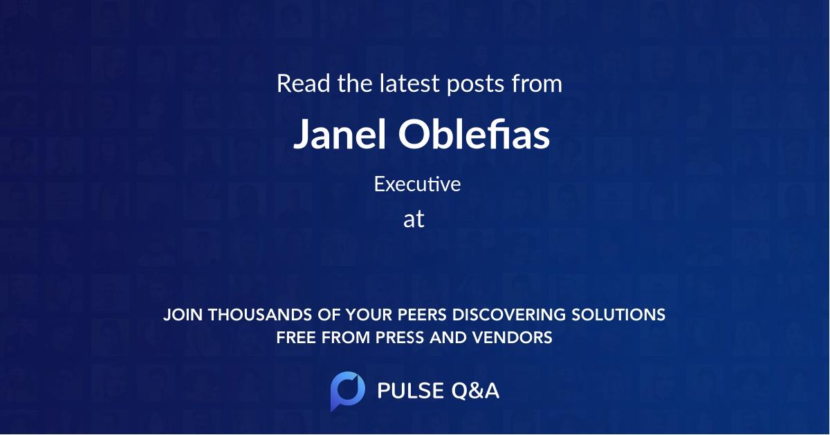 Janel Oblefias