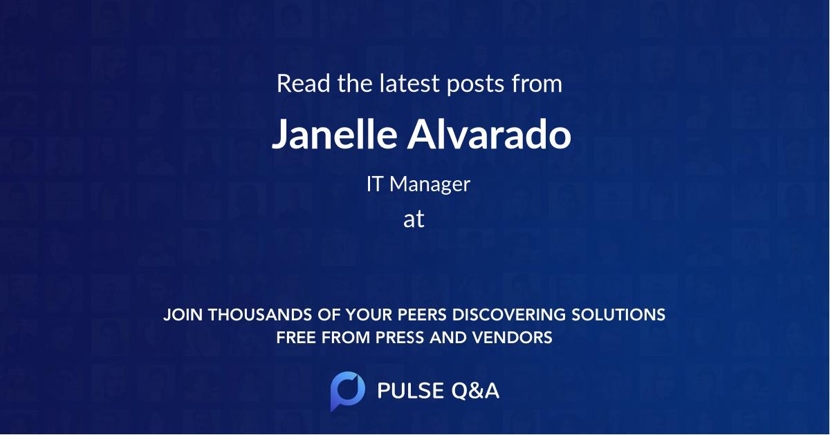 Janelle Alvarado