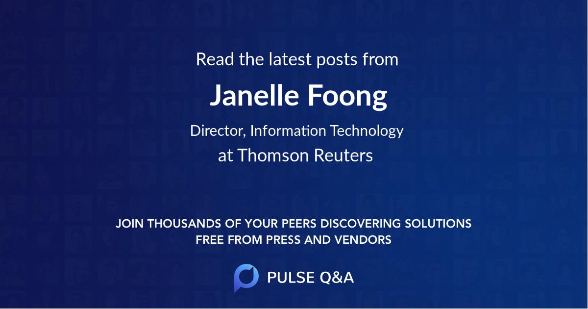 Janelle Foong