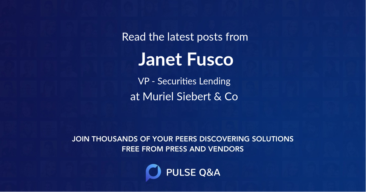 Janet Fusco