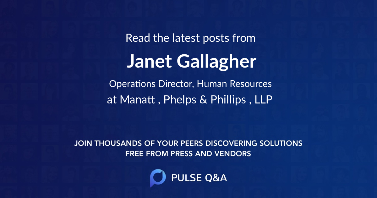 Janet Gallagher