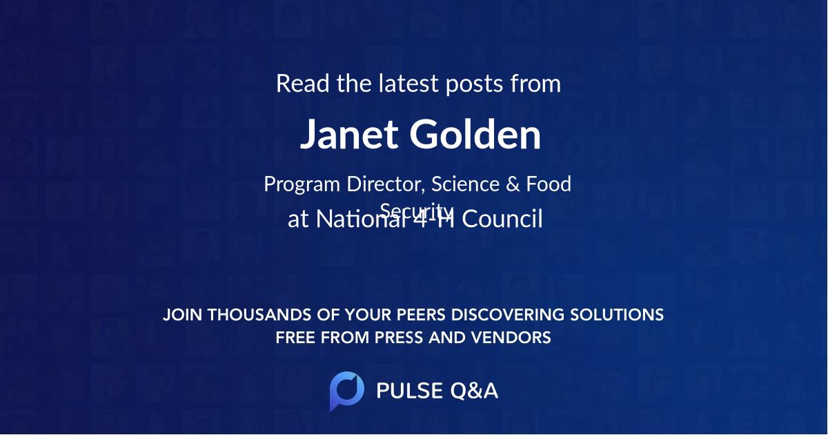 Janet Golden