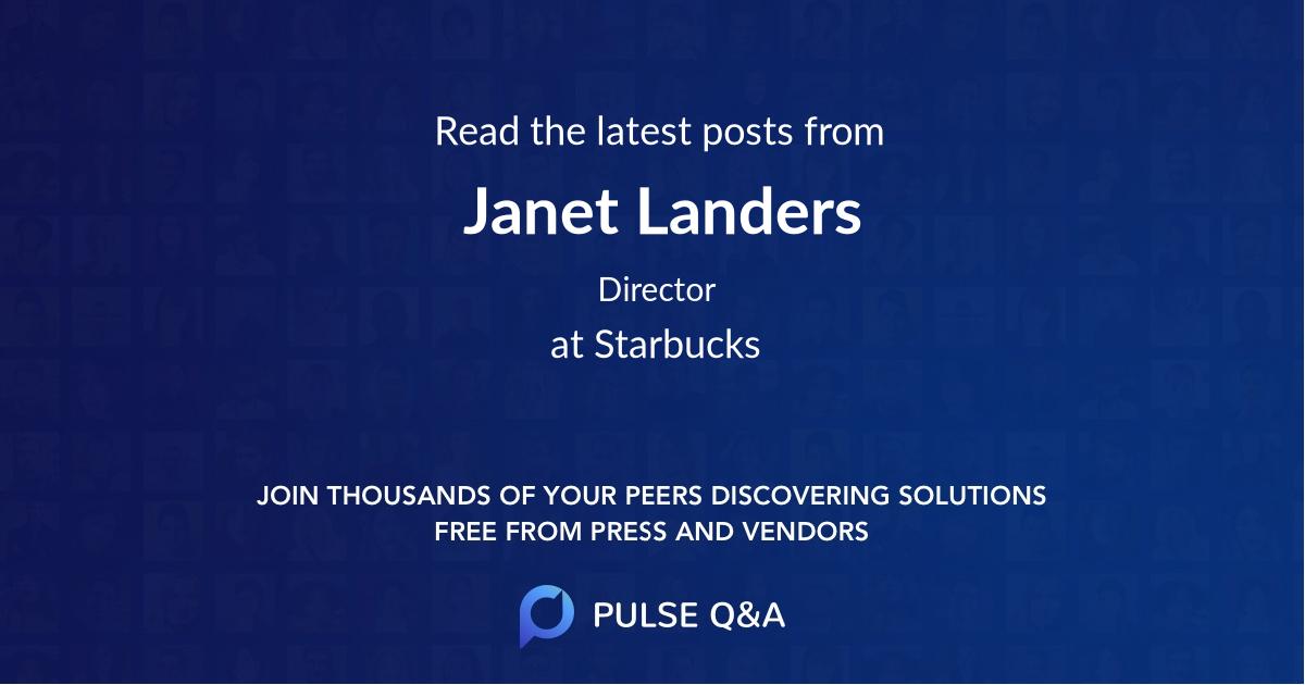 Janet Landers