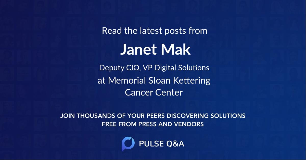 Janet Mak