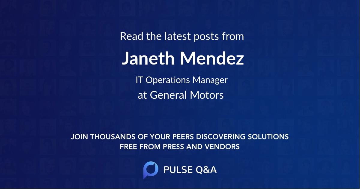 Janeth Mendez