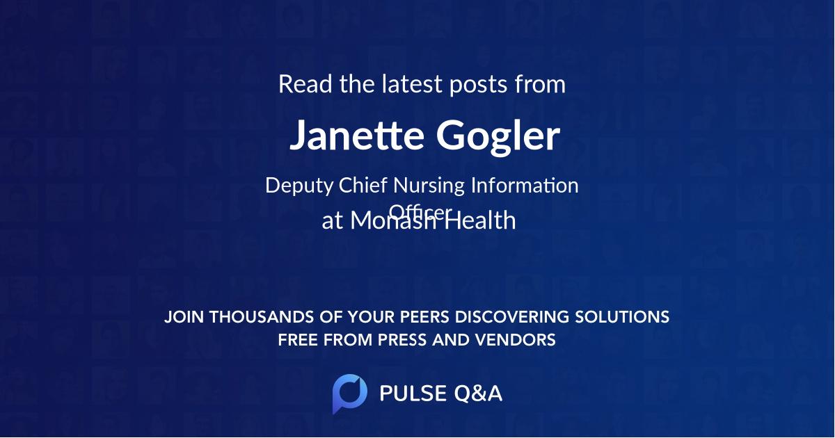 Janette Gogler
