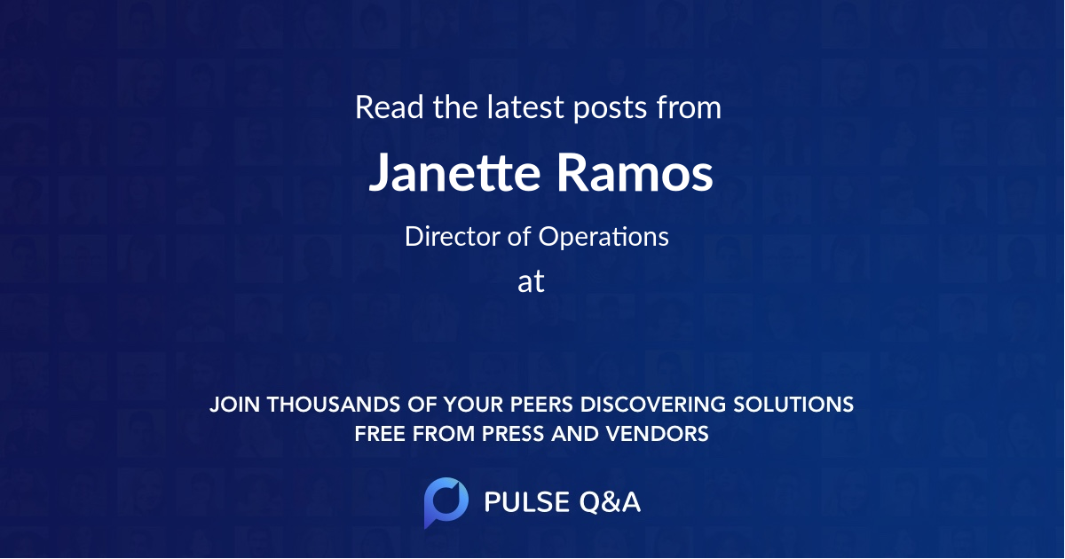 Janette Ramos