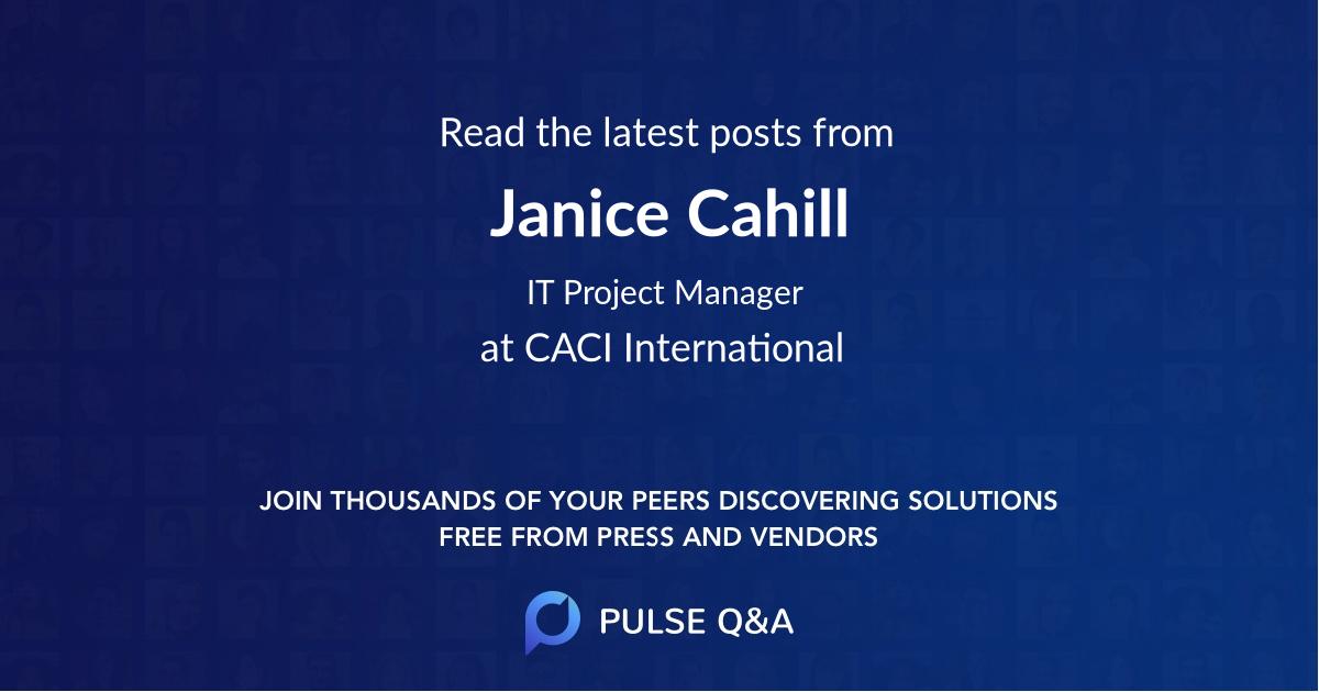 Janice Cahill