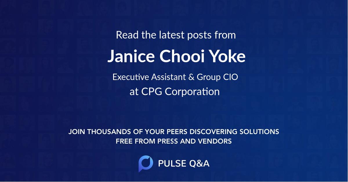 Janice Chooi Yoke