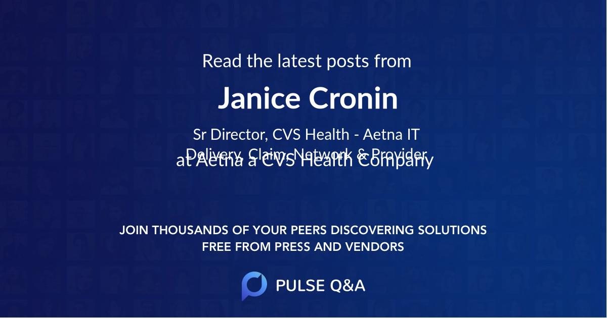 Janice Cronin