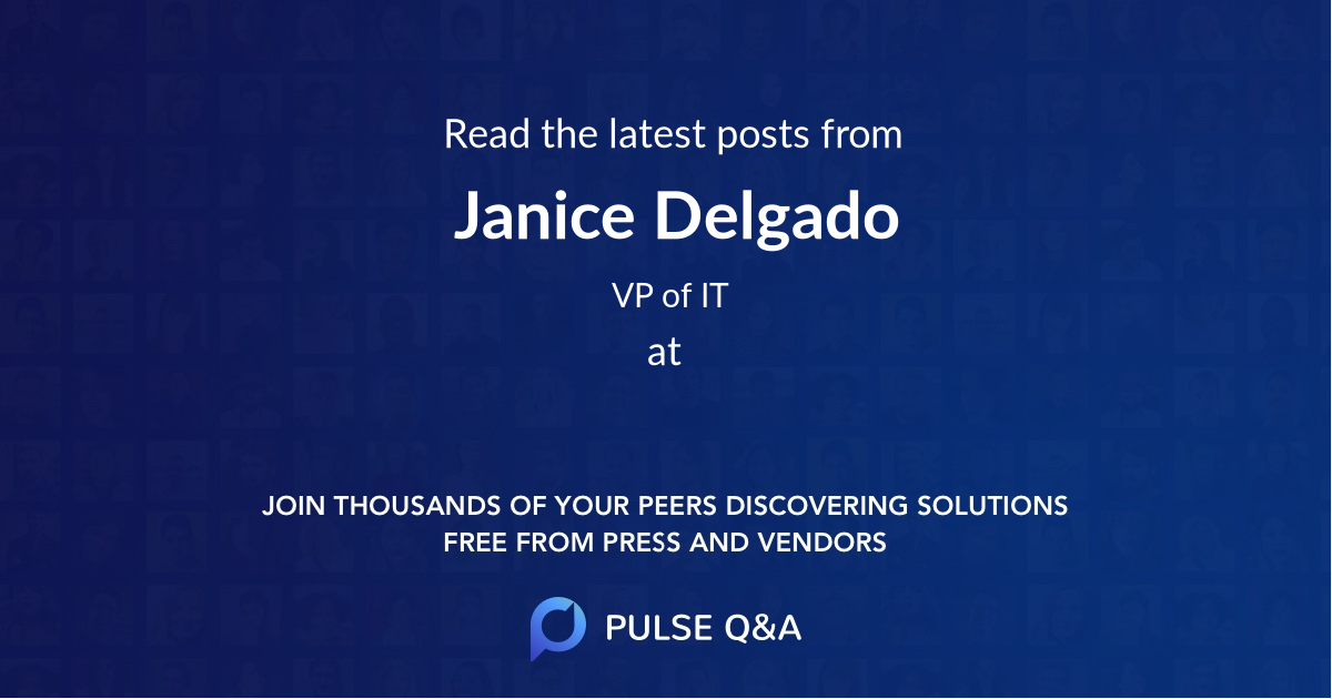 Janice Delgado