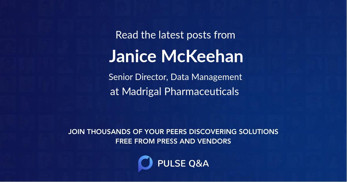 Janice McKeehan
