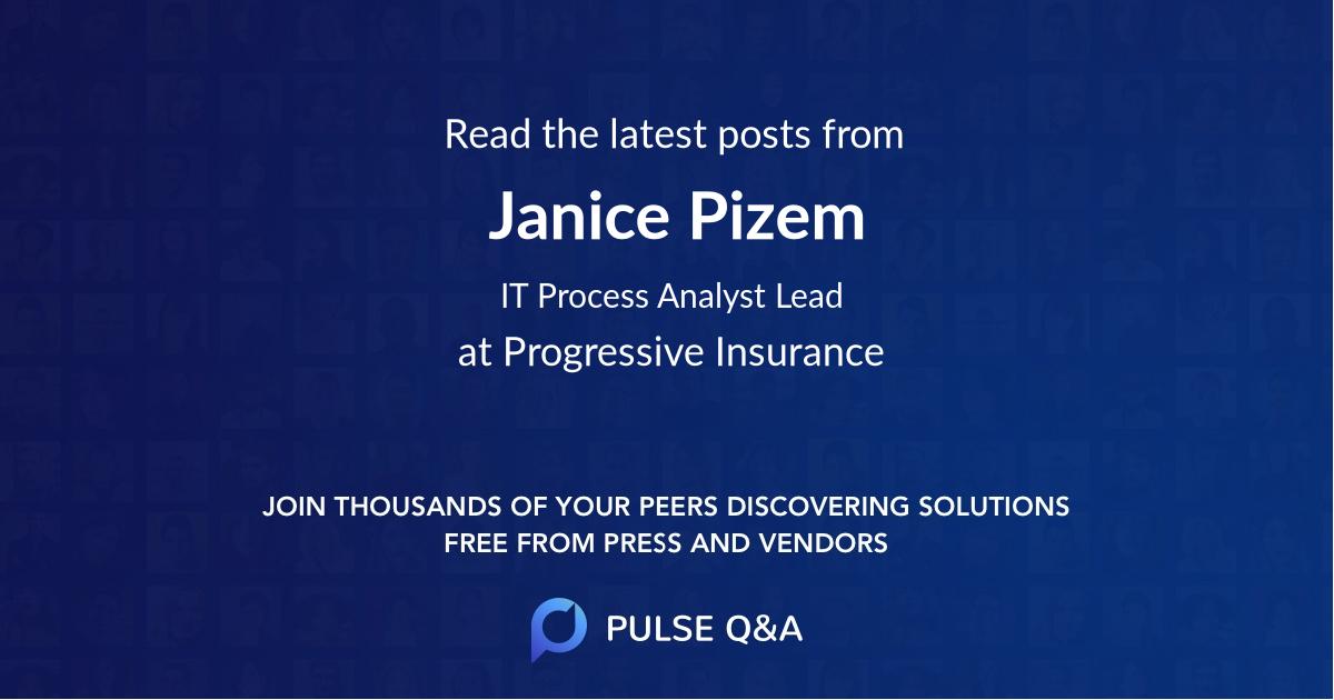Janice Pizem