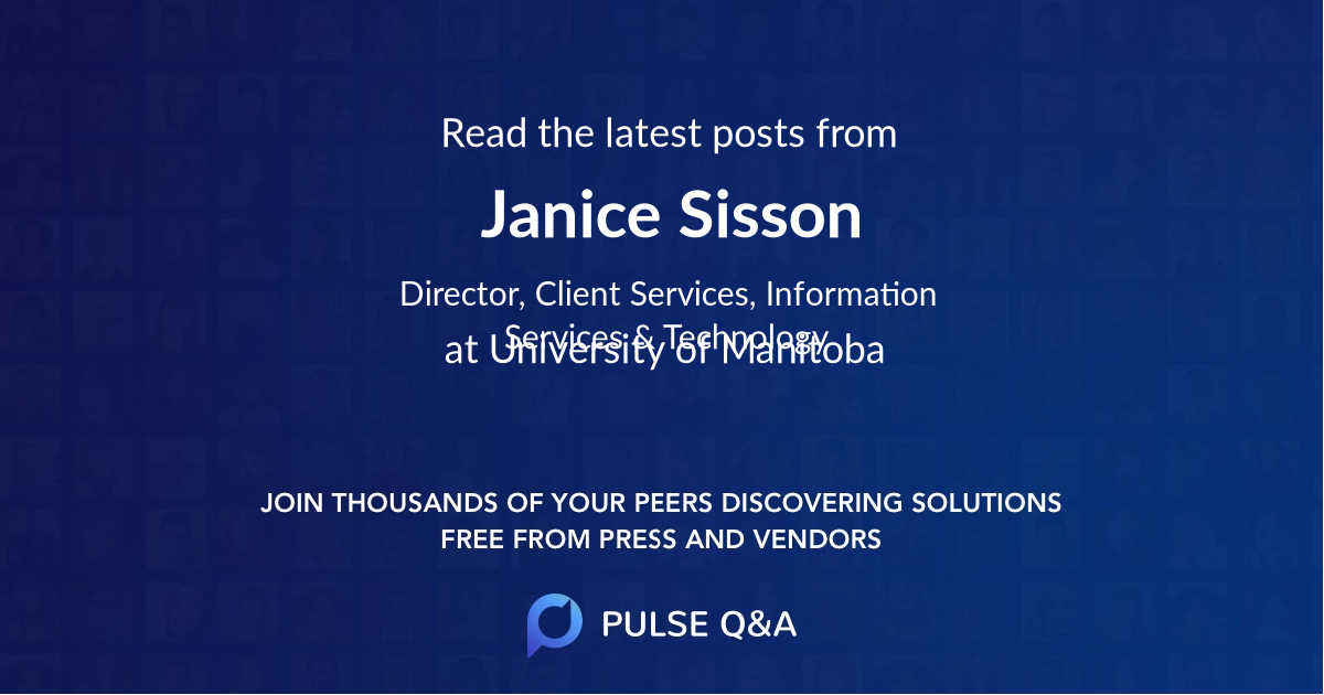 Janice Sisson