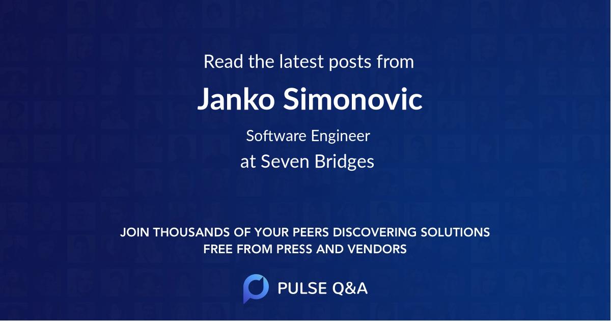 Janko Simonovic