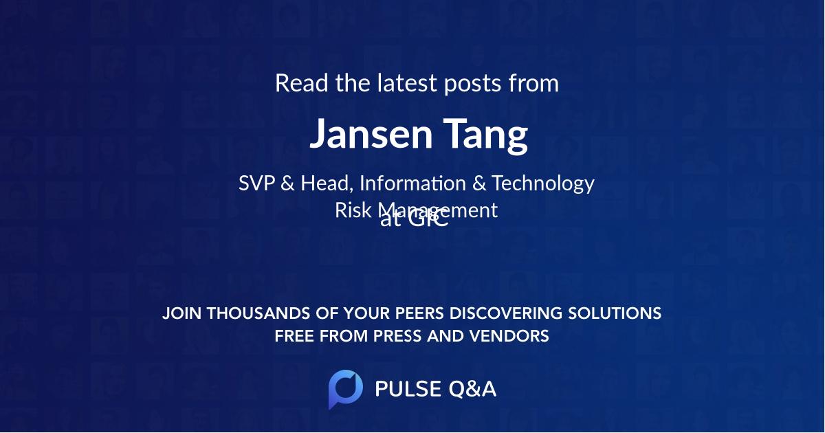 Jansen Tang
