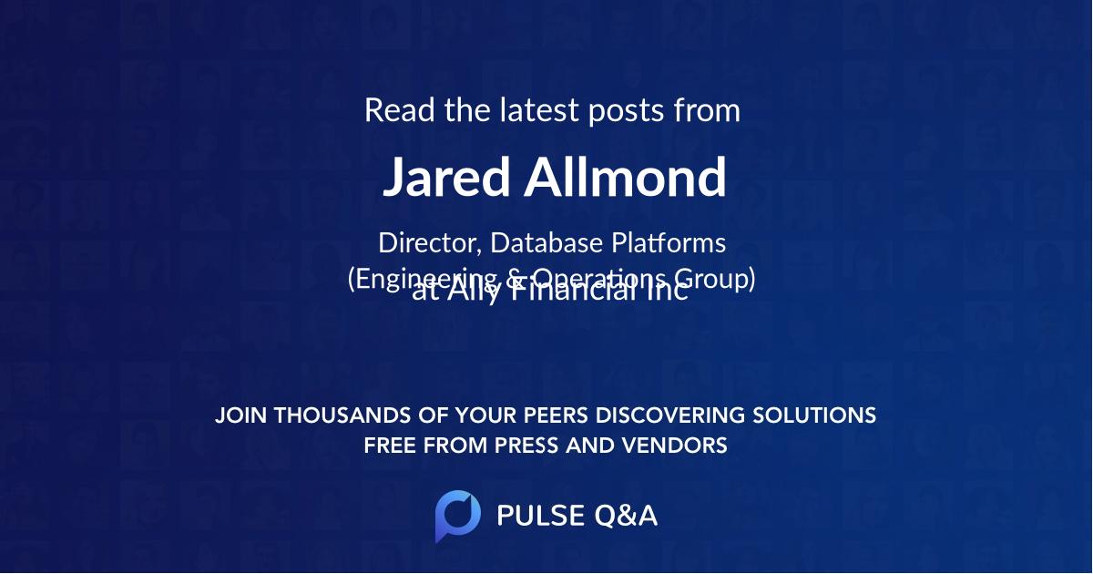 Jared Allmond