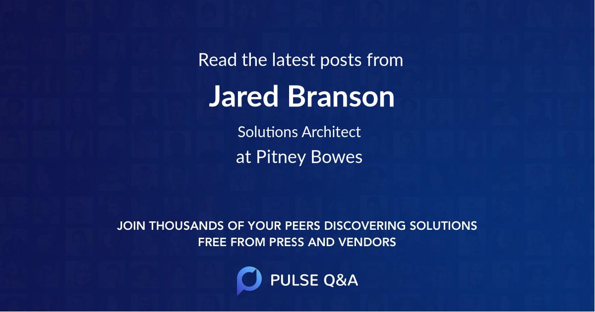 Jared Branson