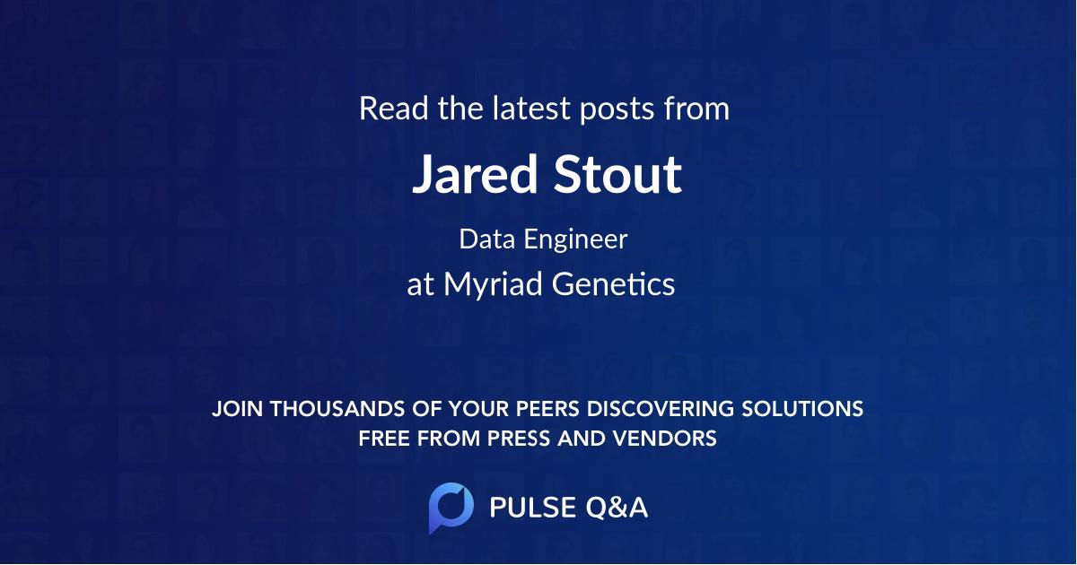 Jared Stout
