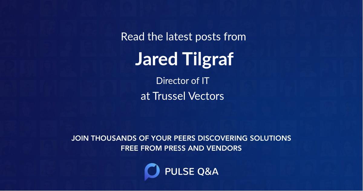 Jared Tilgraf