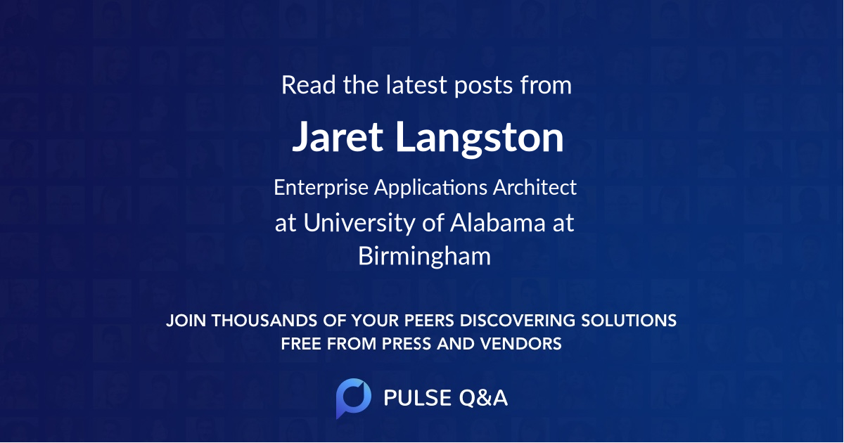 Jaret Langston