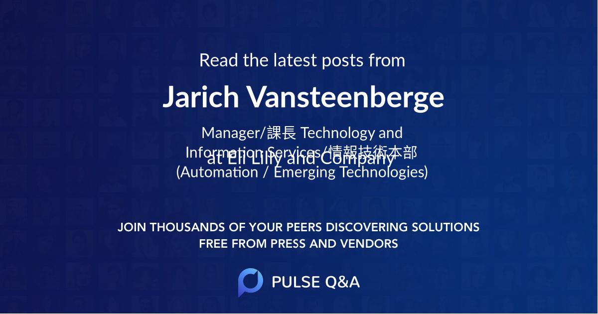 Jarich Vansteenberge