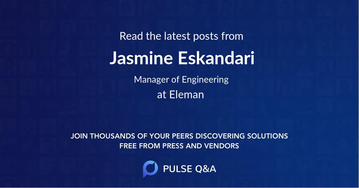Jasmine Eskandari