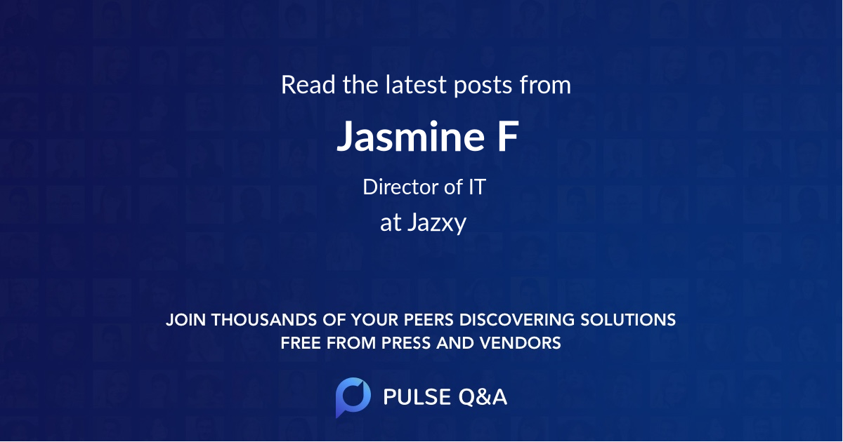 Jasmine F