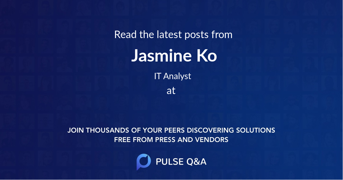 Jasmine Ko