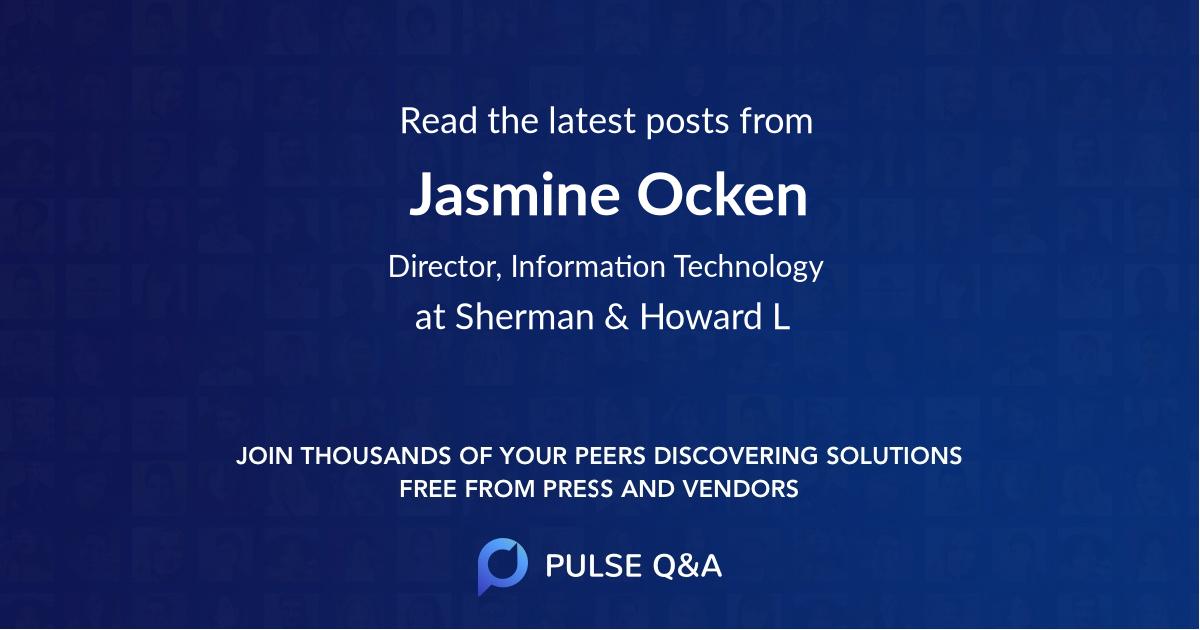 Jasmine Ocken