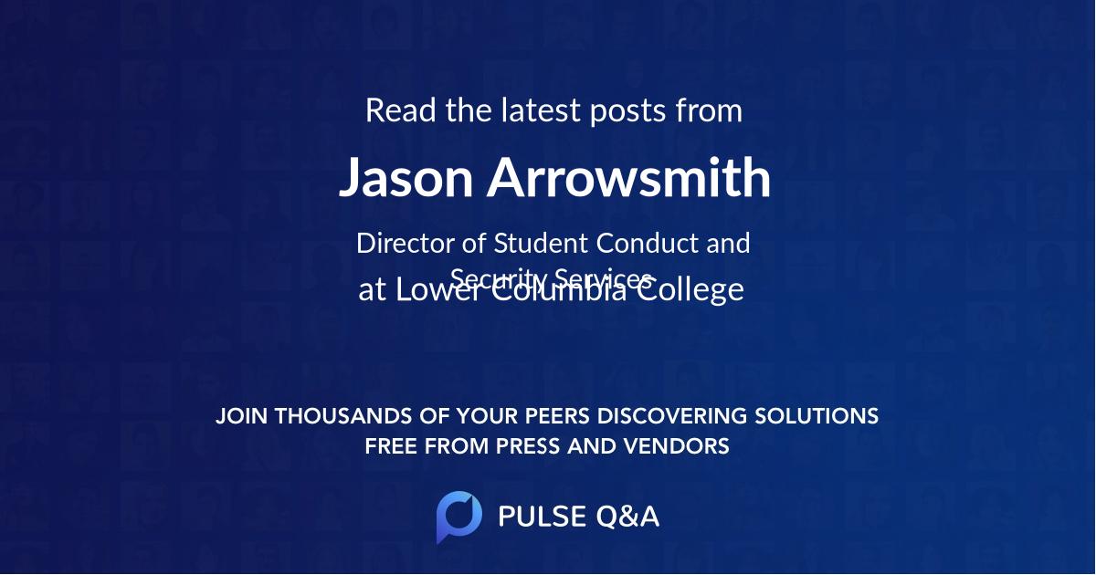 Jason Arrowsmith