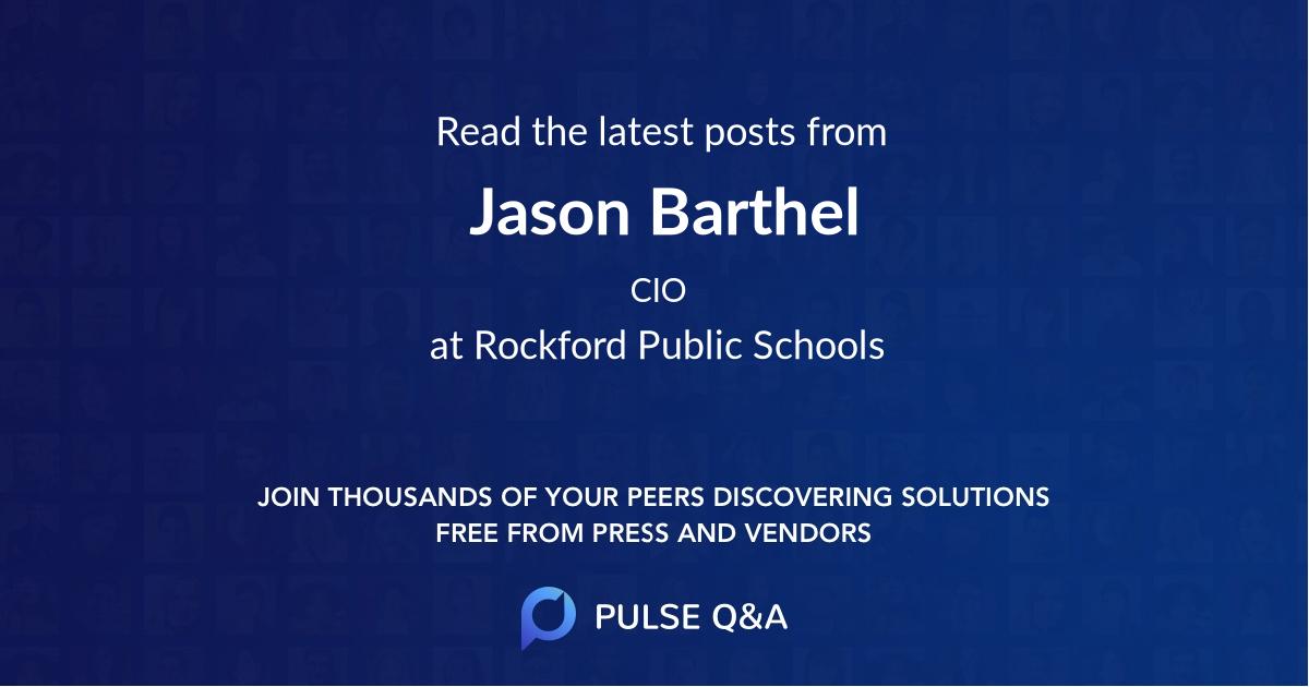 Jason Barthel