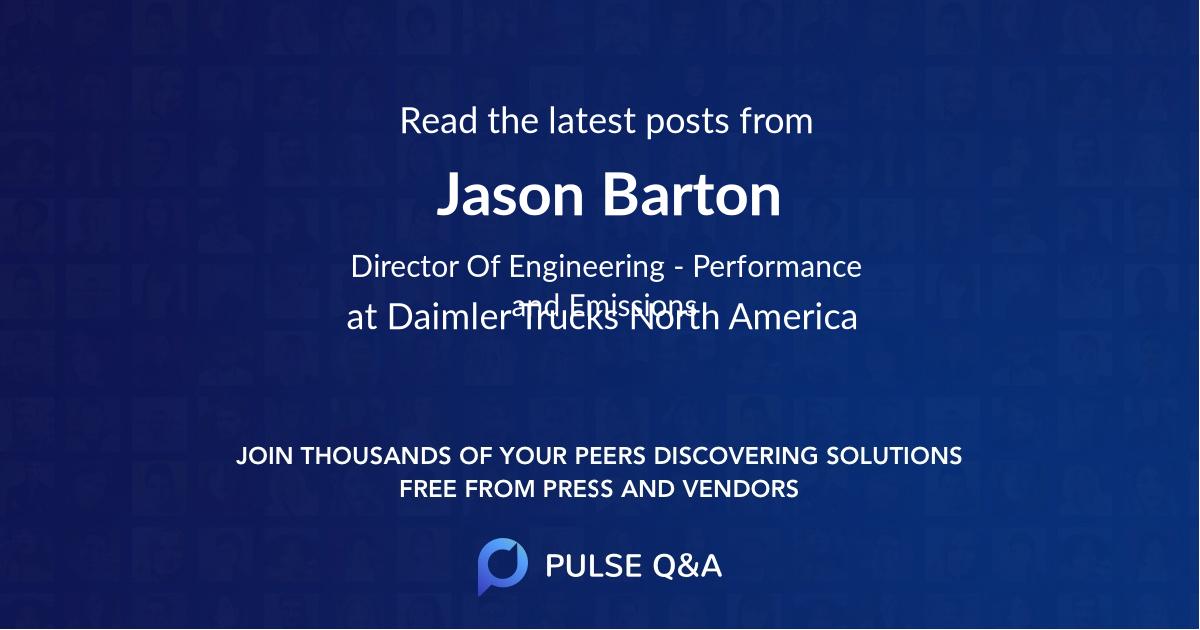 Jason Barton